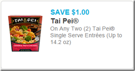 Tai Pei Entrees Just $1.13 at Walmart!