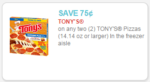 tonys coupon