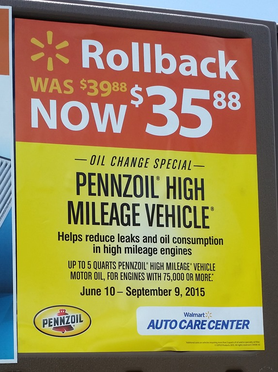 Walmart Oil Changes >> Save Time And Money By Getting Your Oil Changed At Walmart