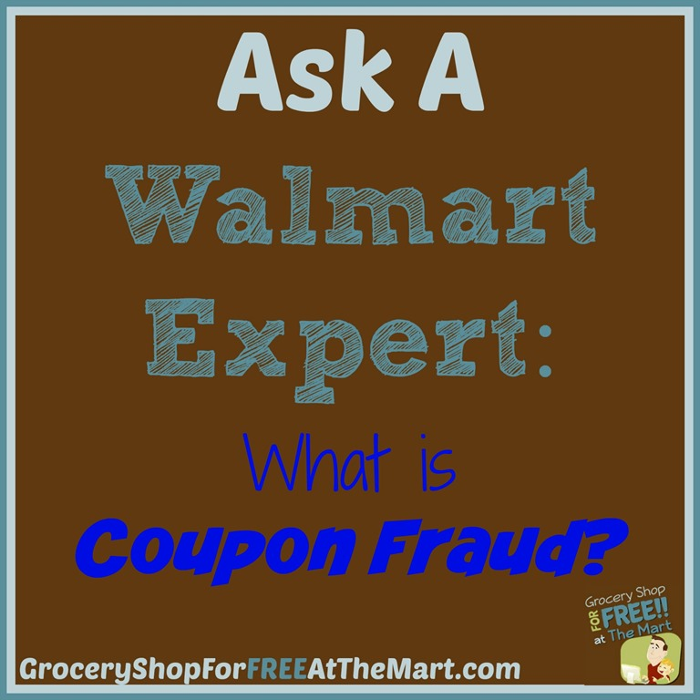 Ask a walmart expert what is coupon fraud grocery shop for ask a walmart expert what is coupon fraud fandeluxe Gallery