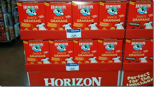 Horizon Snack Crackers Just $1.74 at Walmart!