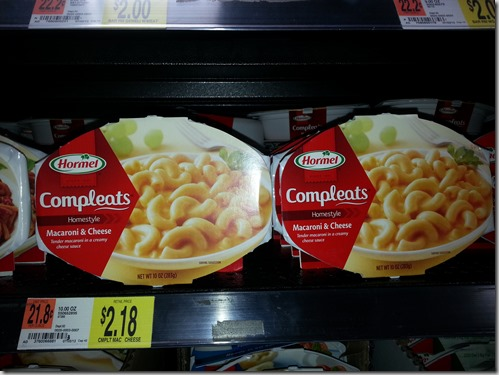 Walmart Price Match Deal: Hormel Compleats Just $1.19!