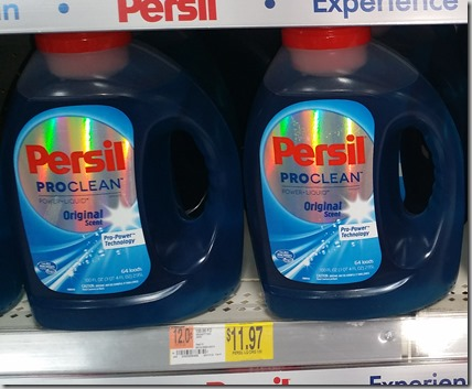 Save $5 on Persil Laundry Detergent at Walmart!