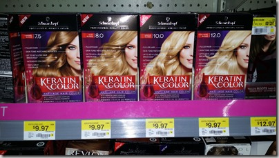 Schwarzkopf Hair Color just $6.97 at Walmart!