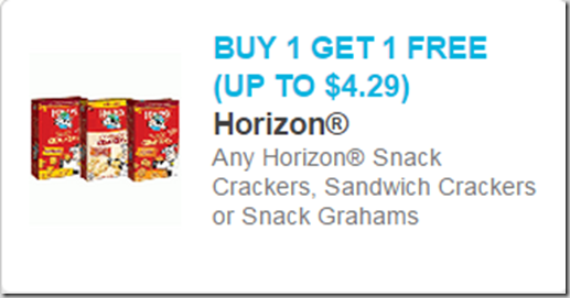Horizon Snack Crackers Just $1.74 at Walmart!