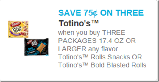 Walmart Price Match Deal: Hamburger Helper for $.48 and Totino's Pizza Rolls for $.75!