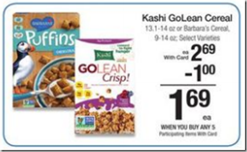 Walmart Price Match Deal: Barbara's Cereal Just $.69!