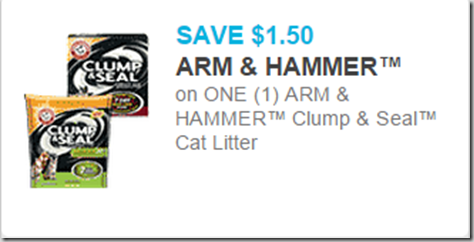 Walmart Price Match Deal: Arm & Hammer Clump & Seal Cat Litter Just $4.99!