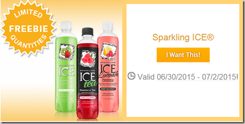 FREE Bottle of Sparking ICE Drink at Walmart with SavingStar!