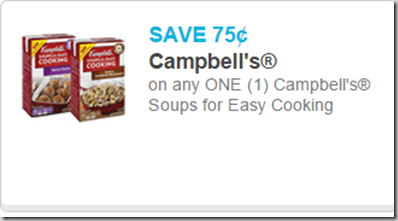 Campbell's Soup for Easy Cooking Just $.93 at Walmart!