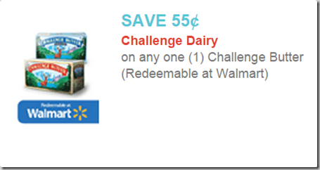 Challenge Butter and Cream Cheese for Under a Buck at Walmart!