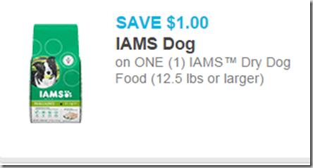 Save Up To $3 on Iams Pet Food at Walmart!