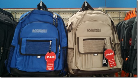 EastSport Backpacks at Walmart for $14.88