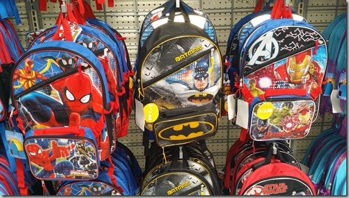 Marvel and DC Superhero Backpacks at Walmart for $12.88