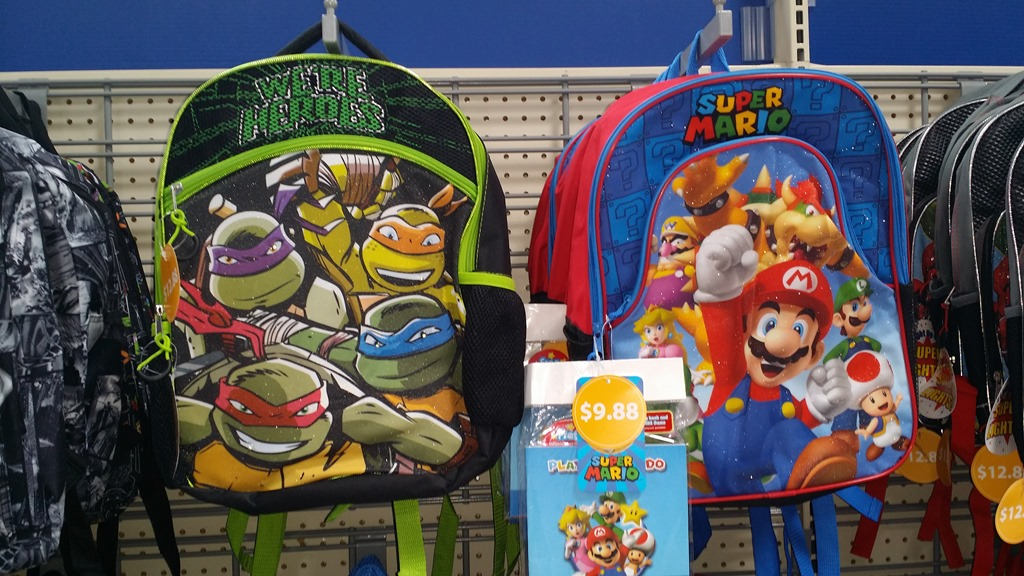 2015 Walmart Back to School Backpacks Roundup!