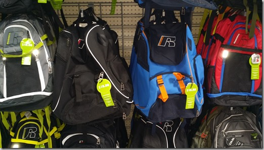 Russell Backpacks at Walmart for $18.88