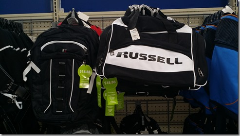 Russell Duffle Bag for $18.88