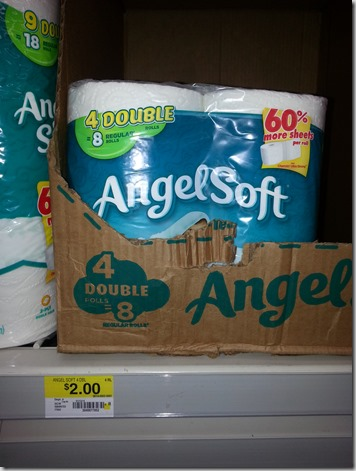 Angel Soft Bath Tissue Starting at $.12 a Roll at Walmart!
