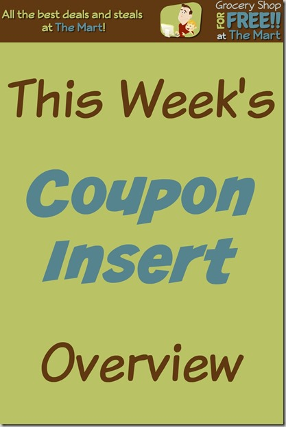 7/26 Coupon Insert Overview!