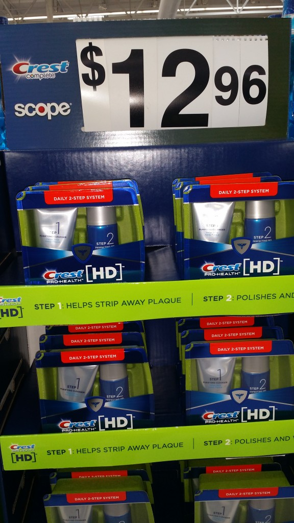Crest  Pro-Health  [HD] 2-Step System Just $10.96 at Walmart!