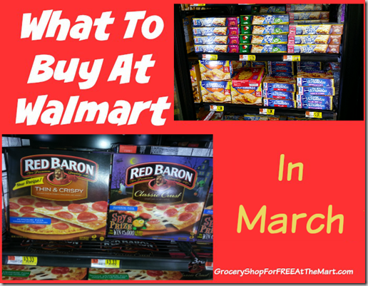 What to Buy at Walmart in March
