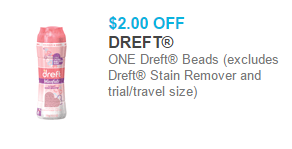 picture about Dreft Printable Coupon identify Dreft Laundry Items Beginning at $4.97 at Walmart!