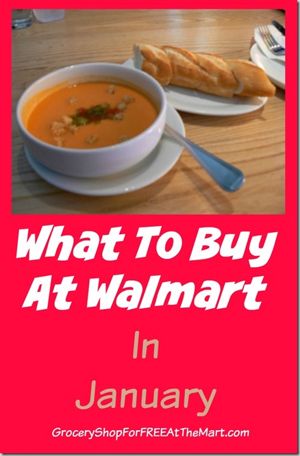What To Buy At Walmart In January