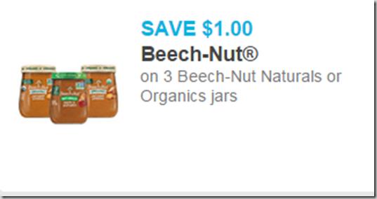 Beech Nut Baby Food Just $.55 at Walmart!