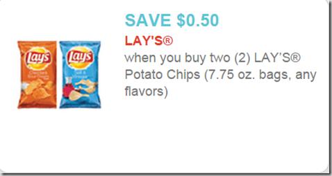 Rare Printable Coupon for Lay's Potato Chips!