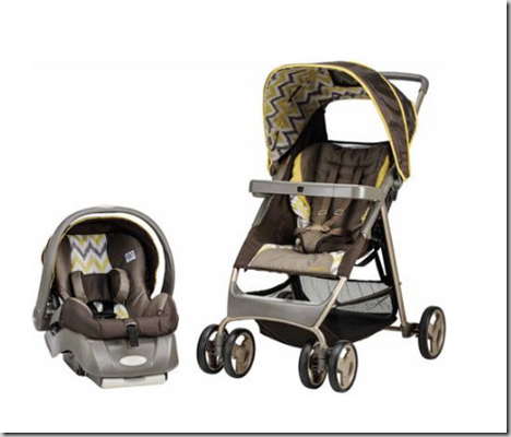 Walmart Dare to Compare Deal: Evenflo Baby Travel Stroller and Carseat for $139.13!