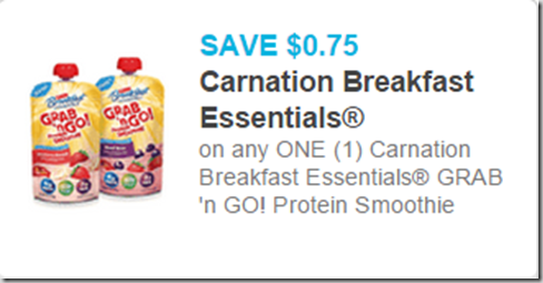 Carnation Breakfast Essentials Grab and Go Protein Shakes Just $1.23 at Walmart!