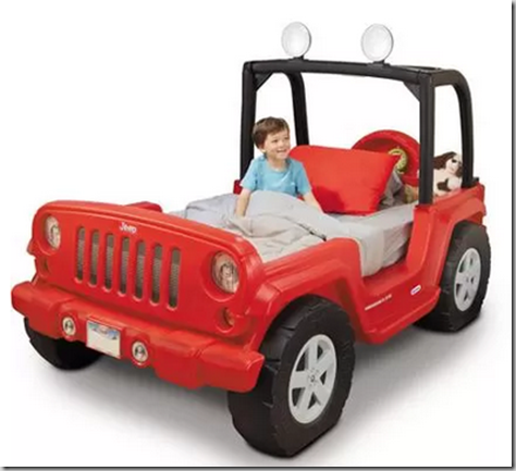 Walmart Dare to Compare Deal: Red Jeep Toddler Bed Just $279.98!