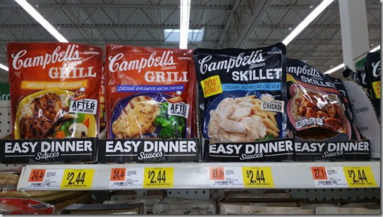 Campbell's Sauces Just $1.94 at Walmart!