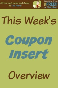 8/30 Coupon Insert Overview!
