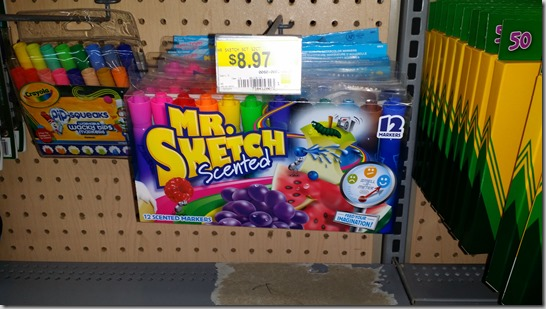 Save a Dollar on Mr Sketch Markers at Walmart!