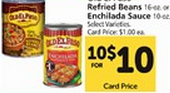 Walmart Price Match Deal: Old El Paso Refried Beans Just $.17!