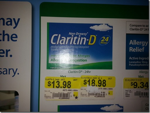 Save Up to $17 on Claritin Allergy Products!
