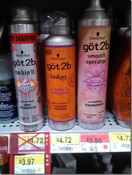 FREE Got2b Hair Stylers at Walmart!