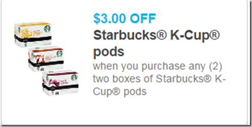 photo relating to Starbucks K Cups Printable Coupons called Clean Printable Discount coupons for Starbucks Espresso!