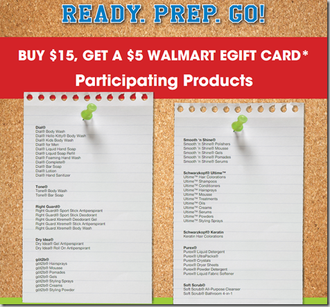 FREE Purex, Right Guard, Got2B, Dial and More with Overage at Walmart!