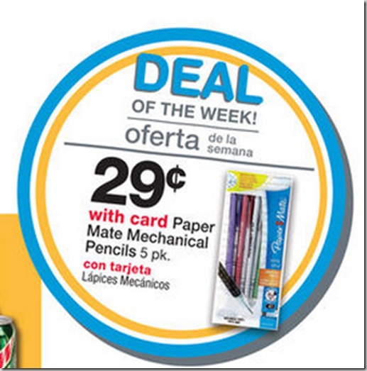 FREE Paper Mate Mechanical Pencils with Overage at Walmart