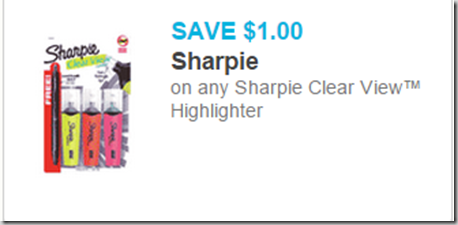 Sharpie Markers Just $.72 at Walmart!