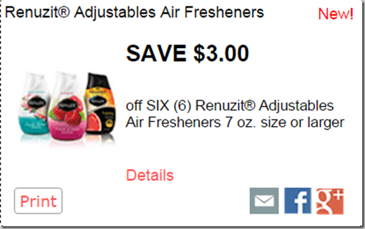 FREE Renuzit Air Fresheners with Overage at Walmart!