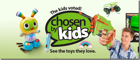 Walmart Announces Top Christmas 2015 Toys as Chosen by Kids!