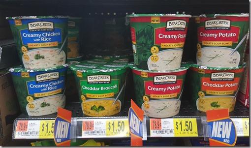 Bear Creek Soup Bowls Just $.75 at Walmart!
