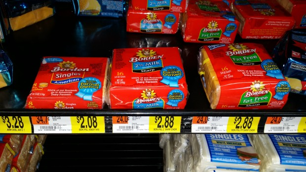 FREE Borden Cheese with HUGE Overage!