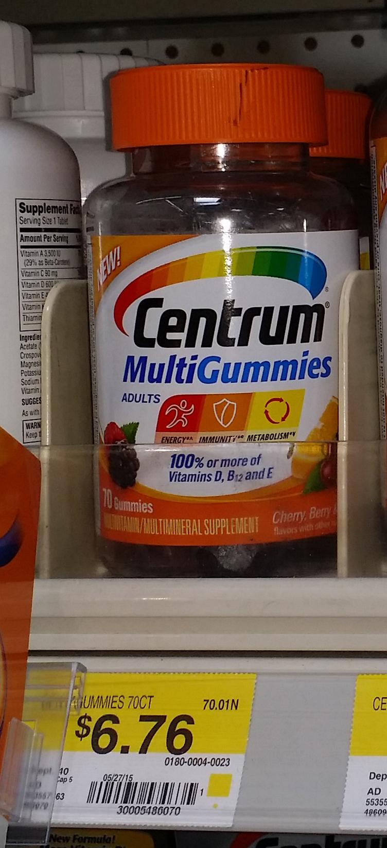 Centrum MultiGummies Just $2.76 at Walmart!