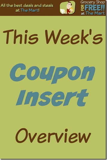 10/4 Coupon Insert Overview!
