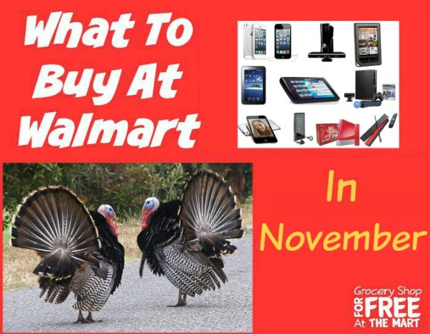 What to Buy at Walmart in November!
