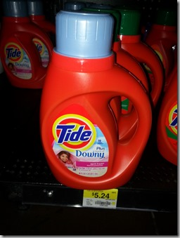 New HIGH DOLLAR Printable Coupon for Tide Detergent and Walmart Matchup!